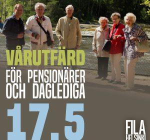 Välkommen med på vårutfärd för pensionärer och daglediga!