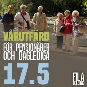 Pensionärer vårutfärd UUSI