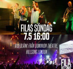 Kom med på Filas söndag 7.5 kl. 16!